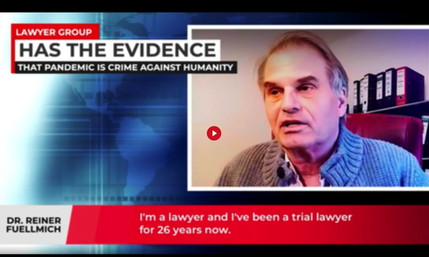 Dr Reiner Fuellmich, International Lawyer Has All the Evidence 6Q7Th6HJgW
