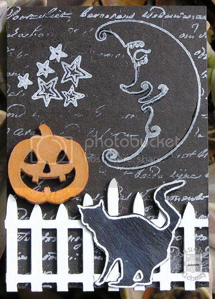 Halloween tag by Marilyn Hughes