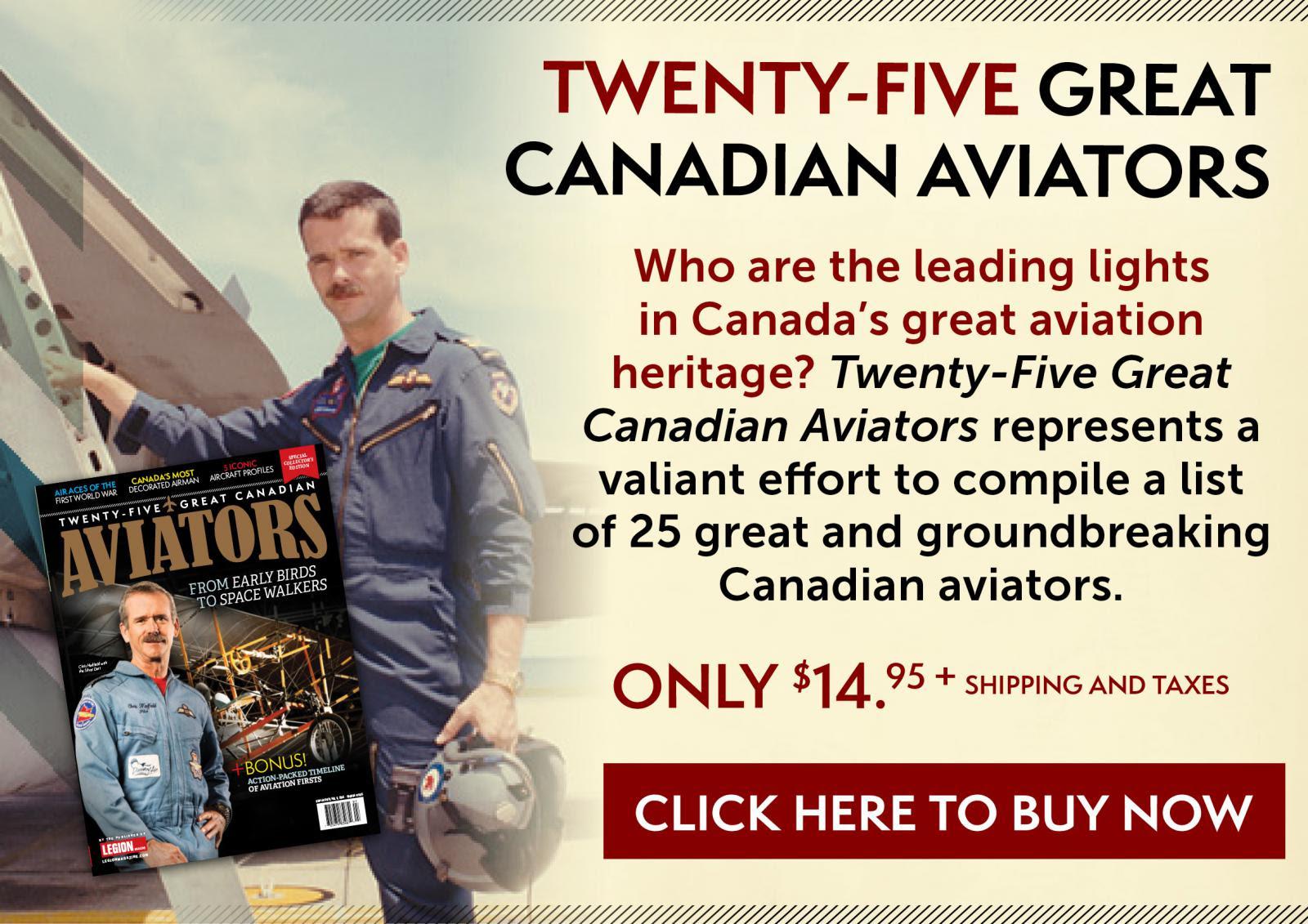 Twenty-Five Great Canadian Aviators