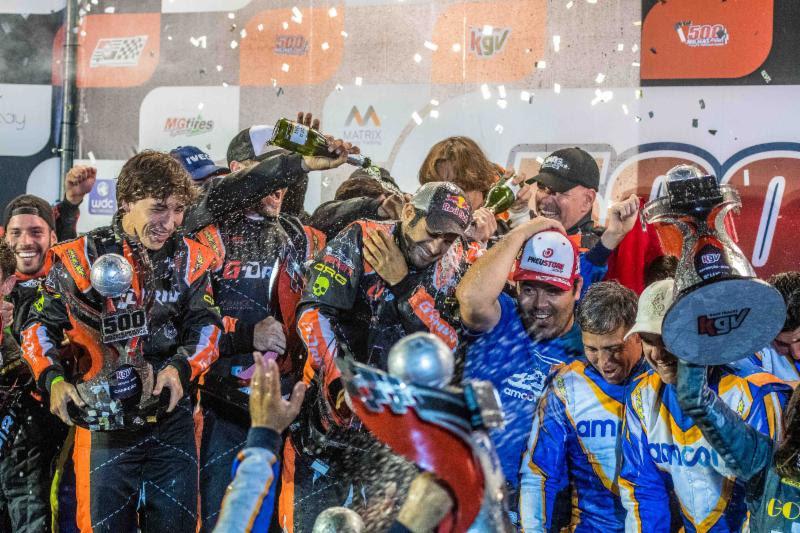 Gustavo Yacamán ganó las 500 Millas de Karts