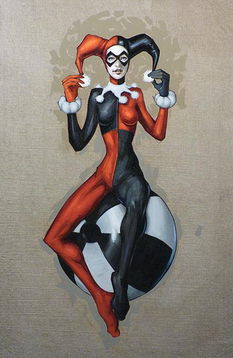 Harley Quinn by Clinton Hobart