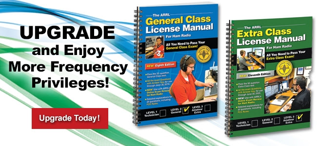 Upgrade your license. ARRL will help.