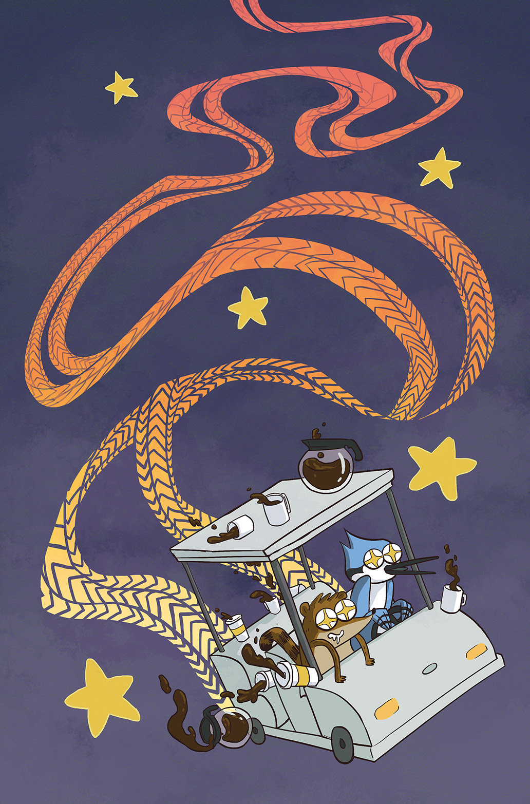 REGULAR SHOW #15 Cover B by Katie McDermott