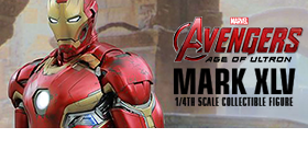 HOT TOYS 1/4 SCALE IRON MAN MARK XLV