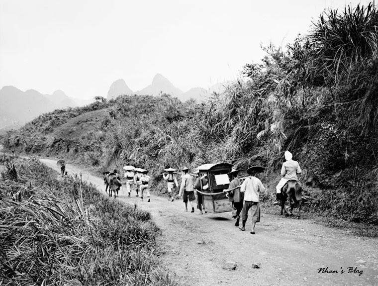 La région de Dong Dang au début du XXe siècle.