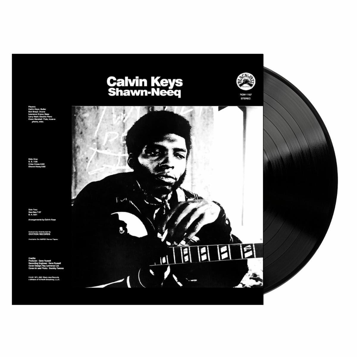Clavin Keys Shawn-Nee Black Vinyl LP Packshot