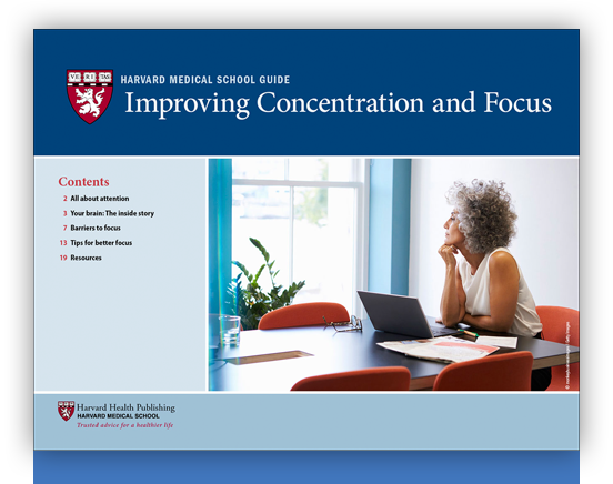 Improving Concentration and Focus