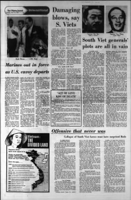 The Ottawa Journal, April 14, 1975, trang 13.