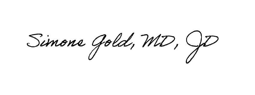 Simone Gold Signature