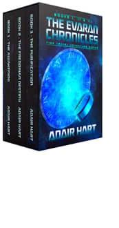 The Evaran Chronicles Box Set: Books 1–3 by Adair Hart