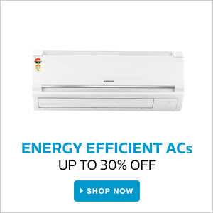 Energy Efficient AC's | Upto 30% Off