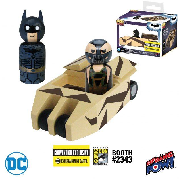 Batmobile Pin Mate Exclusive Set