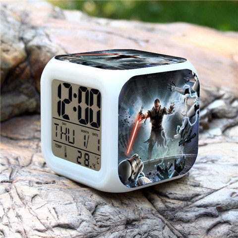 Colorful Star Wars Alarm Clock - Assorted Styles