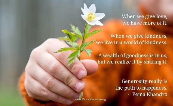 2016_Meme_PemaKhandro_Buddhism_Generosity