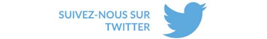 Suivez-nous surTwitter