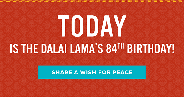 Share a wish for peace