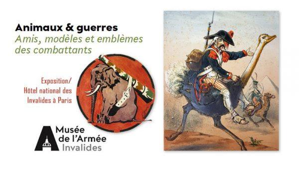 """Exposition """"Animaux & Guerres"""" à Paris jusqu'au 9 octobre 2017"""