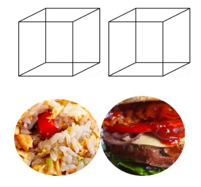 volume cibo semplice elaborato