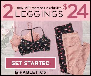 New VIP Members Get Two Pairs of Leggings for $24