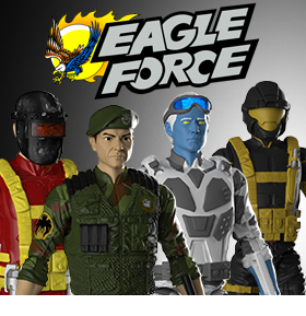 EAGLE FORCE ACTION FIGURE SERIES