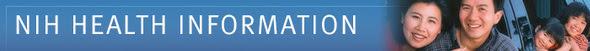NIH Health Information banner image