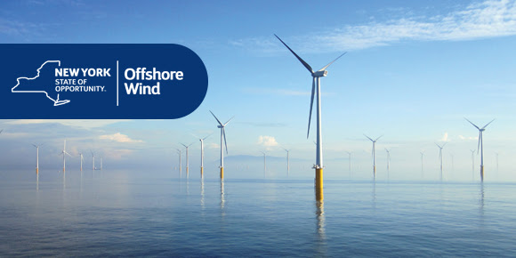 New York State of Opportunity - Offshore Wind Logo