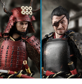 PALM EMPIRE SAMURAI 1/12 SCALE FIGURES