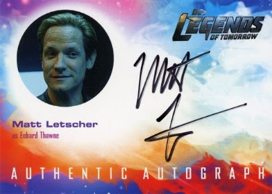 DC's Legends of Tomorrow Trading Cards Seasons 1 & 2 - Autograph Card - Letscher