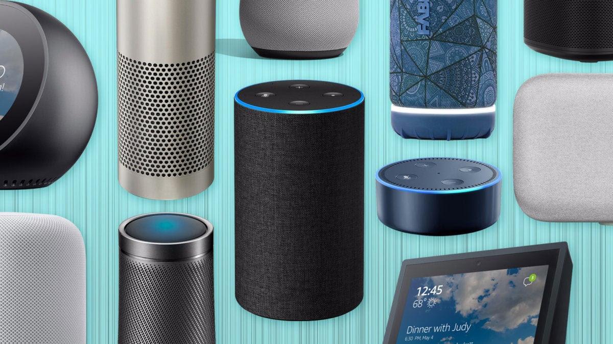 Various smart speakers
