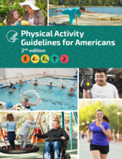 Cover of the Physical Activity Guidelines for Americans, 2nd edition
