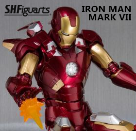 S.H.FIGUARTS IRON MAN MK VII SET
