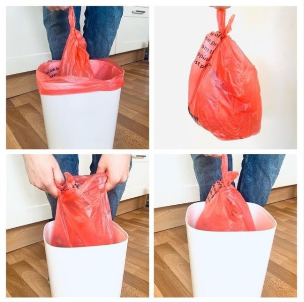 Double bag Covid waste
