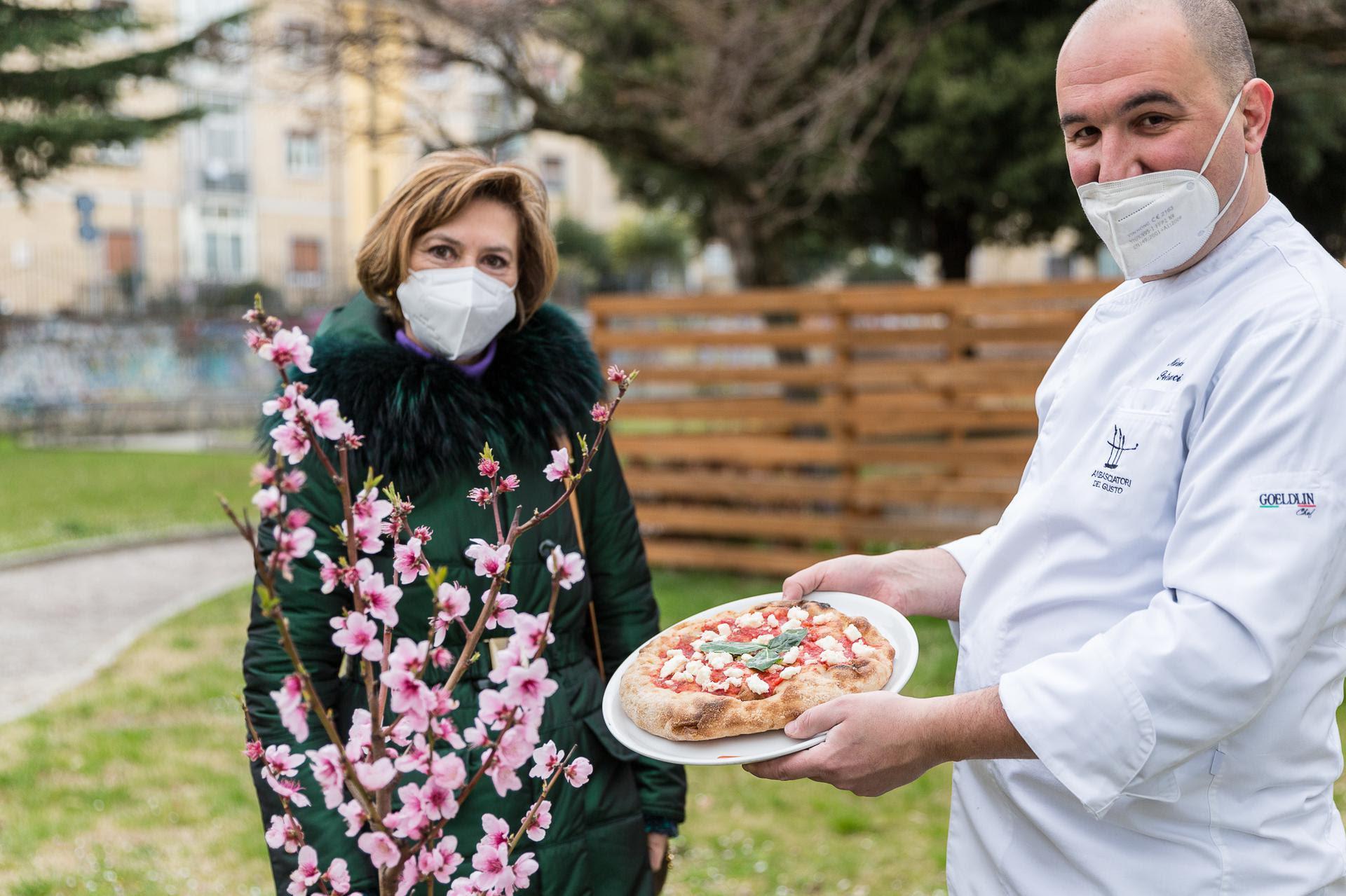 Maria Luisa Volponi, assessore alle Pari opportunità di Ascoli Piceno e Mirko Petracci.jpg