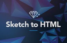 Sketch to html