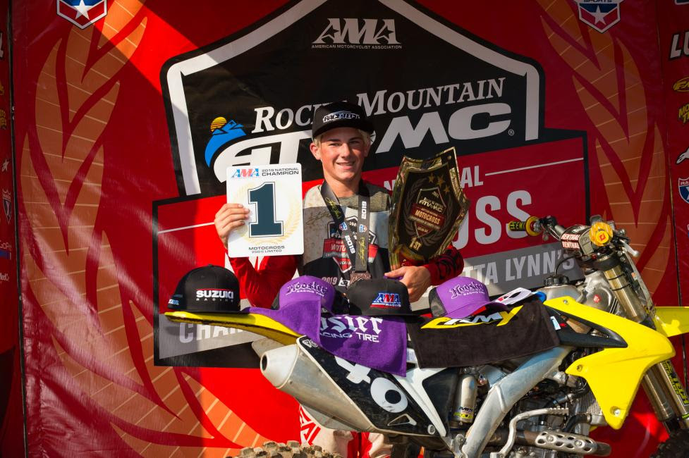Derek Leatherman clinched the 250 C Limited Championship.