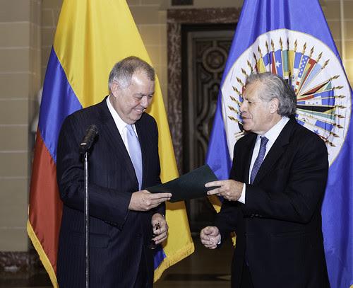 Nuevo Embajador de Colombia ante la OEA presenta credenciales