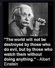 Albert Einstein: The world will not be destroyed