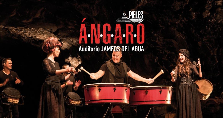 Ángaro , espectáculo musica y danza Jameos del Agua