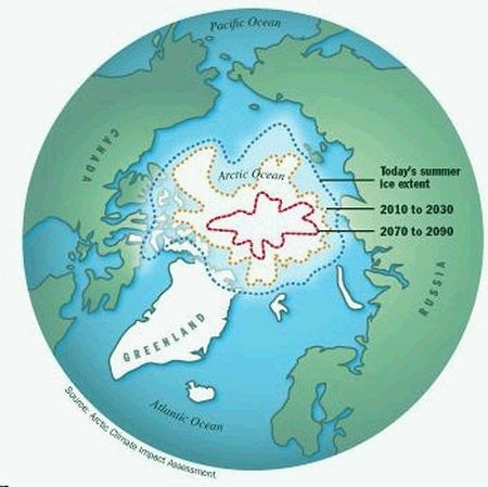 Arctic Ice Region