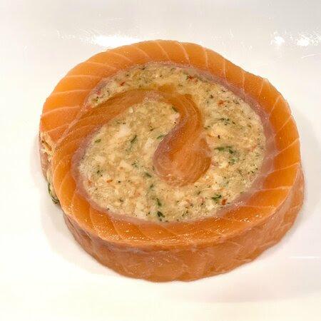 Salmon & Crab Pinwheels
