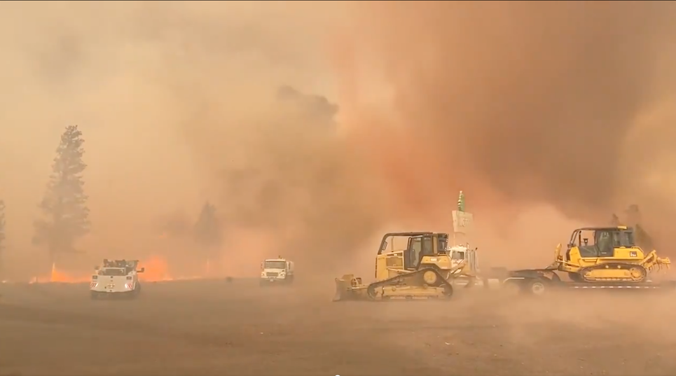 California wildfires are so intense that they are sparking firenadoes