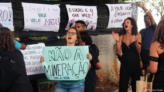 Brasilien Protest in Brumadinho gegen Vale 2 (Marina Costa)