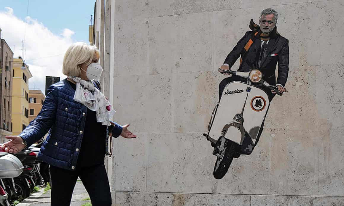 José Mourinho: riding his way to half-glories.