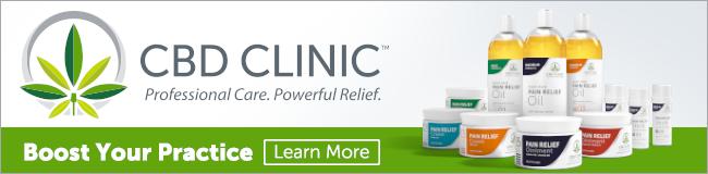 CBD Clinic CBD Massage Products