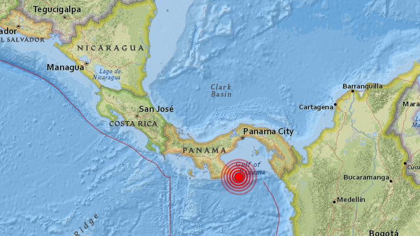 SISMO 5,8 GRADOS SACUDE PANAMA