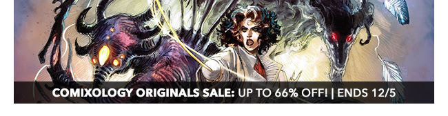 comiXology Originals Sale: up to 66% off! | Ends 12/5