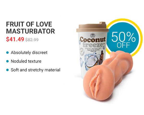 Fruit of love masturbator
