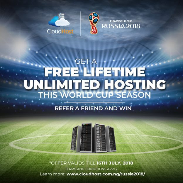 #Russia2018 - Free Lifetime Unlimited Hosting this World Cup season