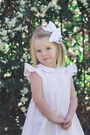 Blonde Girl All White