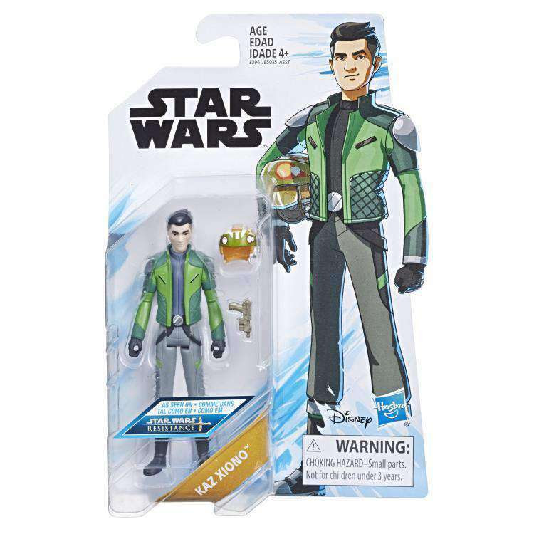 Image of Star Wars Resistance Wave 1 - Kaz Xiono figure - FEBRUARY 2019
